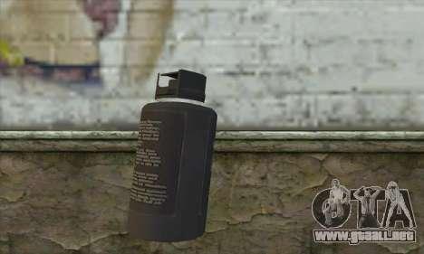 Spray из Postal 3 para GTA San Andreas segunda pantalla