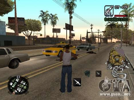 C-HUD by Margarin para GTA San Andreas tercera pantalla