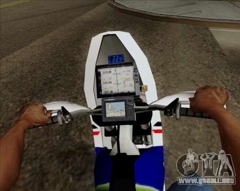 KTM 450 para la visión correcta GTA San Andreas