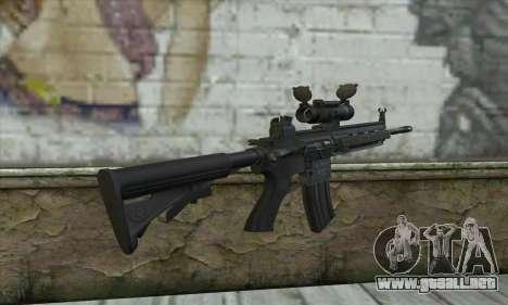 HK416 with ACOG para GTA San Andreas segunda pantalla