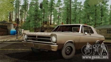 Plymouth Belvedere 2-door Sedan 1965 para GTA San Andreas left
