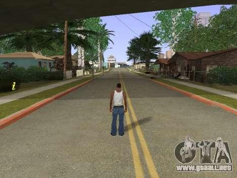 New Groove Street para GTA San Andreas sucesivamente de pantalla