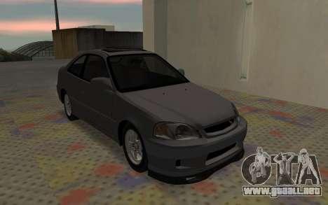 Honda Civic JDM para la visión correcta GTA San Andreas