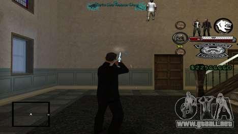 Hud By Tony para GTA San Andreas tercera pantalla