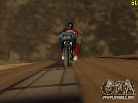 Montar a caballo en paredes y techos v2.0. para GTA San Andreas segunda pantalla