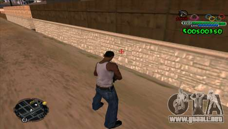 C-HUD Advance para GTA San Andreas segunda pantalla