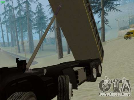 El panel activo de v 3.2.1 para GTA San Andreas décimo de pantalla