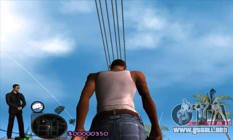C-HUD Woozie para GTA San Andreas