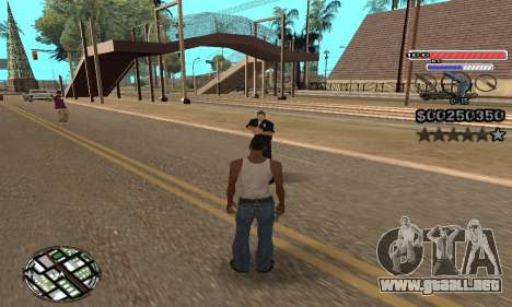 C-HUD v2 para GTA San Andreas tercera pantalla