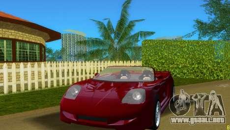 Toyota MR-S Veilside Spider para GTA Vice City left
