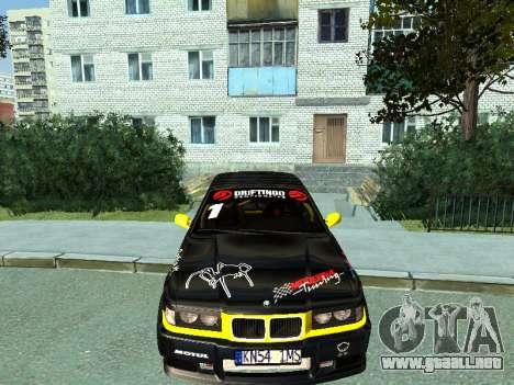 BMW M3 E36 Compact Darius Kepezinskas para GTA San Andreas left