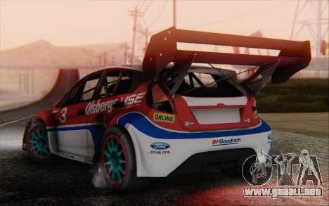 Ford Fiesta Omse HillClimb para GTA San Andreas left