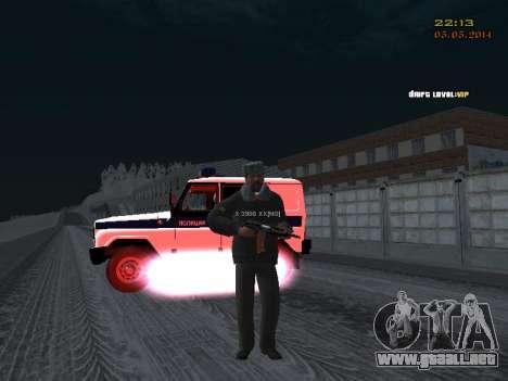 Pak DPS en un formato de invierno para GTA San Andreas sexta pantalla