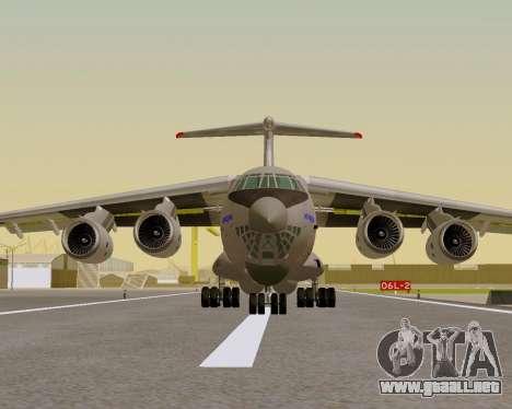 Il-76md-90 (IL-476) para la visión correcta GTA San Andreas