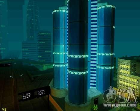 ENB HD CUDA v.2.5 for SAMP para GTA San Andreas segunda pantalla