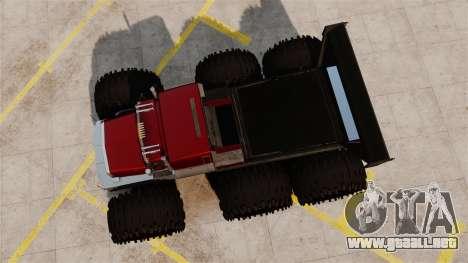The Biggest Monster Truck para GTA 4 visión correcta