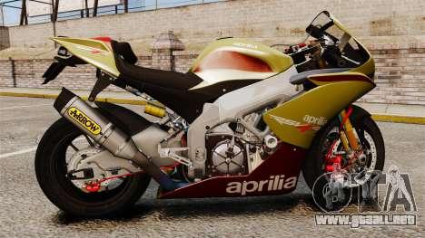 Aprilia RSV4 para GTA 4 visión correcta