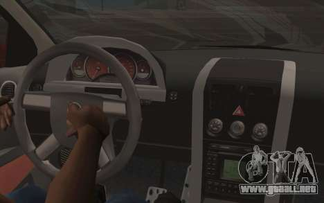 Pontiac GTO 2005 para vista lateral GTA San Andreas