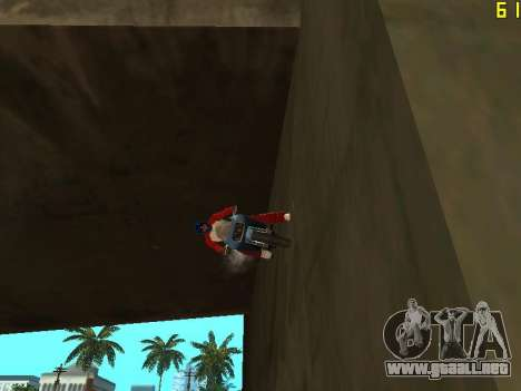 Montar a caballo en paredes y techos v2.0. para GTA San Andreas tercera pantalla