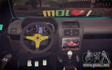 Renault Clio para la visión correcta GTA San Andreas
