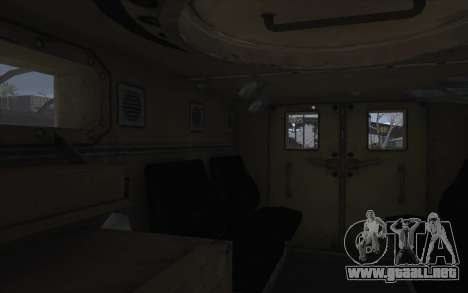 MRAP de BF4 para visión interna GTA San Andreas