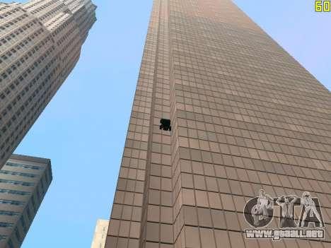 Montar a caballo en paredes y techos v2.0. para GTA San Andreas séptima pantalla