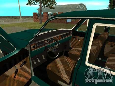 GAS 24-01 Volga para GTA San Andreas vista hacia atrás