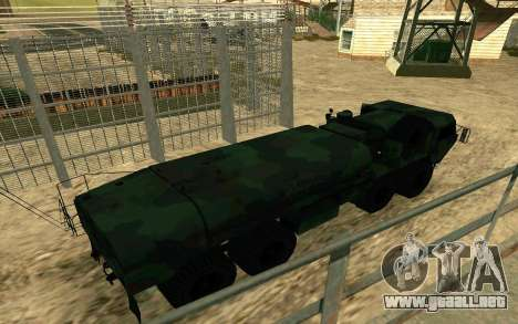 HEMTT Heavy Expanded Mobility Tactical Truck M97 para GTA San Andreas left