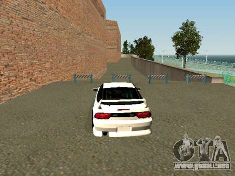 Nissan Sileighty para GTA San Andreas vista posterior izquierda