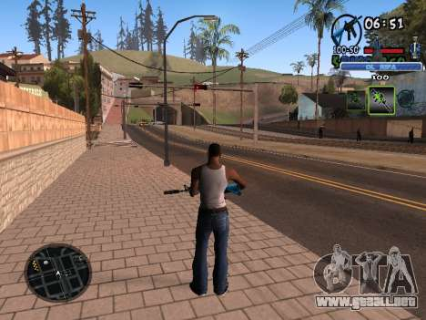 С-HUD de Edad Rifa para GTA San Andreas