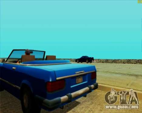 ENB HD CUDA v.2.5 for SAMP para GTA San Andreas octavo de pantalla
