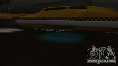 Taxi 5 Element para la vista superior GTA San Andreas