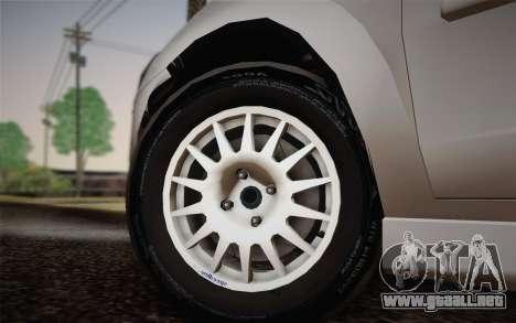 Chevrolet Corsa VHC para GTA San Andreas vista posterior izquierda