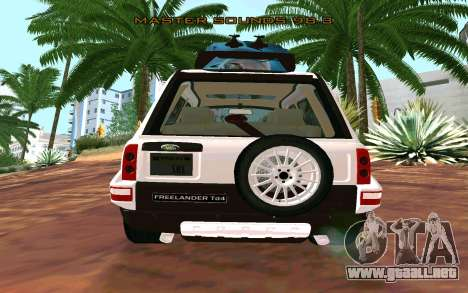 Land Rover Freelander para GTA San Andreas left