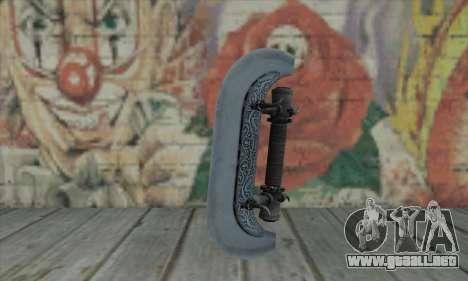 Knuckles - Hatchet para GTA San Andreas