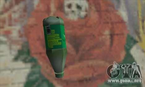 Botol Air Minum para GTA San Andreas segunda pantalla