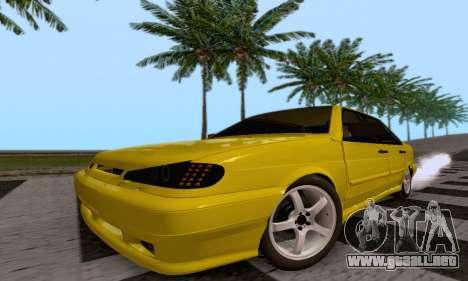 VAZ 2115 Diod para GTA San Andreas vista hacia atrás