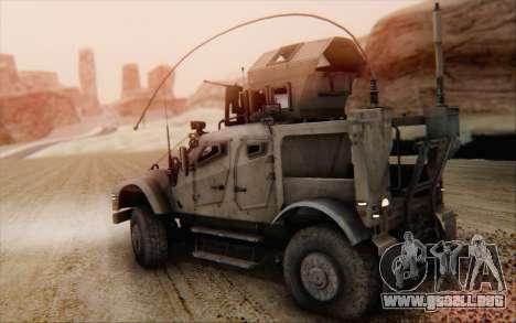 Oshkosh M-ATV para GTA San Andreas left