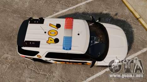 Ford Explorer 2013 LCPD [ELS] v1.5X para GTA 4 visión correcta