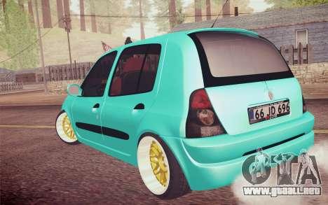 Renault Clio para GTA San Andreas left