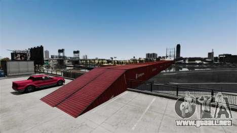 Nuevo puente en el Este de la isla de la ciudad para GTA 4 adelante de pantalla