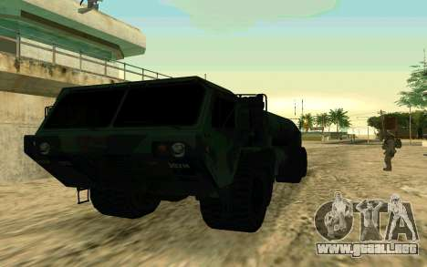 HEMTT Heavy Expanded Mobility Tactical Truck M97 para GTA San Andreas