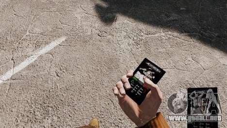 Eminem tema para tu teléfono para GTA 4