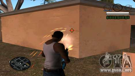 C-HUD by Djet para GTA San Andreas segunda pantalla