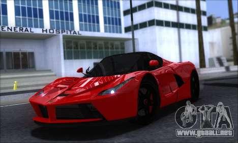 Ferrari LaFerrari v1.0 para GTA San Andreas left