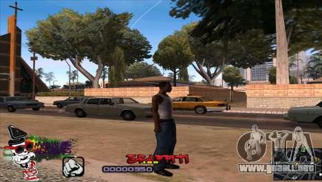 C-HUD Markus para GTA San Andreas