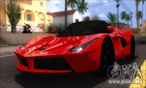 Ferrari LaFerrari v1.0 para la visión correcta GTA San Andreas