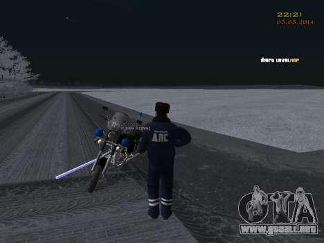 Pak DPS en un formato de invierno para GTA San Andreas undécima de pantalla