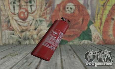 Extintor de L4D para GTA San Andreas