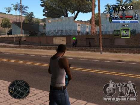 С-HUD de Edad Rifa para GTA San Andreas segunda pantalla